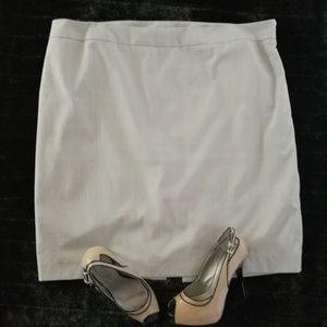 Lane Bryant Cream Pencil Skirt Size 20